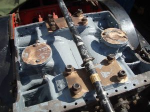 Shotblasted 4F cylinder block